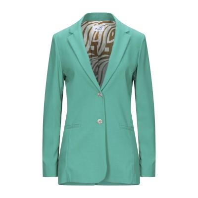 NIŪ テーラードジャケット グリーン S ポリエステル 94% / ポリウレタン 6% テーラードジャケット