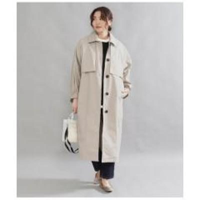 AULI(アウリィ)袖ボリュームステンカラーコート【お取り寄せ商品】