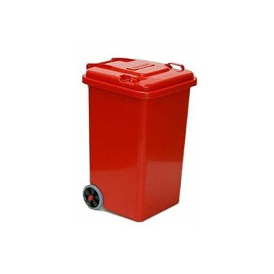 ダルトン(Dulton) フタ付きゴミ箱 レッド 65L 100-198RD