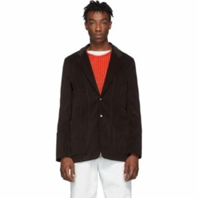 メゾン マルジェラ Maison Margiela メンズ スーツ・ジャケット アウター brown corduroy stripe blazer Dark brown
