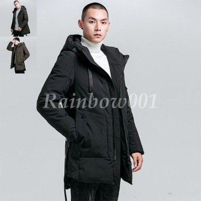 中綿 ジャケット ロングジャケット ボリュームネック アウター 中綿ダウンジャケット メンズ 暖か 暖かい 防寒着 コート 無地 ブルゾン