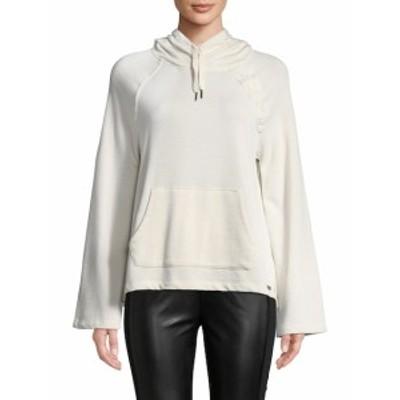 ベッツィージョンソンパフォーマンス レディース トップス シャツ Hooded Cotton Sweater