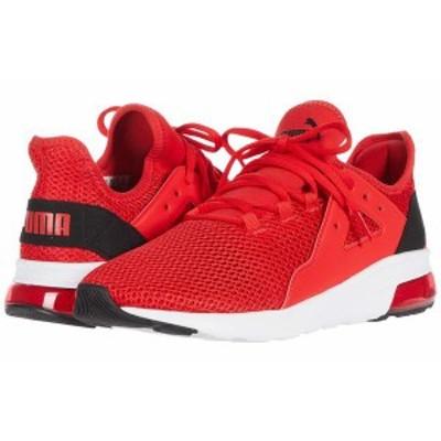 プーマ メンズ スニーカー シューズ Electron Street Tech High Risk Red/Puma Black/Puma White