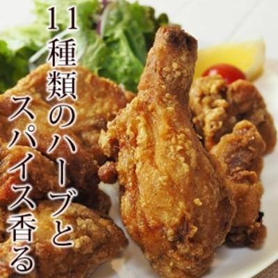 唐揚げ フライドチキン 丸鶏 オリジナルチキン 半羽(約550g) 惣菜 おかず パーティー ギフト ボリューム 肉 生 チルド