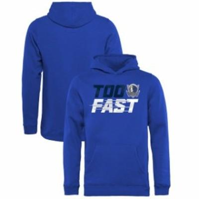 Fanatics Branded ファナティクス ブランド スポーツ用品  Fanatics Branded Dallas Mavericks Youth Blue Too Fast Pu