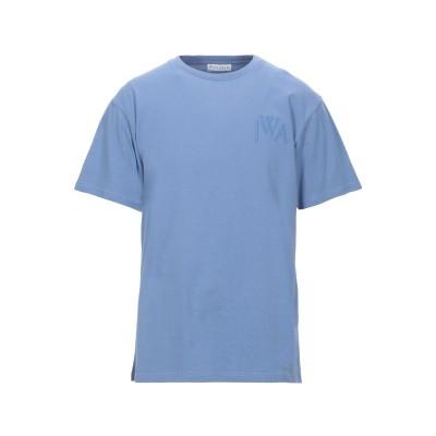 J.W.アンダーソン JW ANDERSON T シャツ パステルブルー XL コットン 100% T シャツ