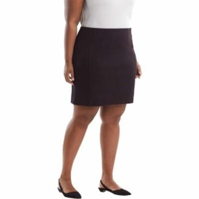 エムエムラフルール M.M. LaFleur レディース スカート 大きいサイズ Plus Size Crosby Skirt - Textured Ponte Lava