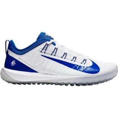 ナイキ メンズ スニーカー シューズ Nike Alpha Huarache 7 Pro Turf Lacrosse Cleats White/Royal