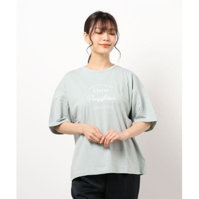 tシャツ Tシャツ フロントロゴオーバーサイズTシャツ