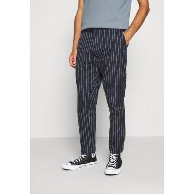 スコッチアンドソーダ カジュアルパンツ メンズ ボトムス FAVE SPORTY PINSTRIPE SUIT PANT - Trousers - combo