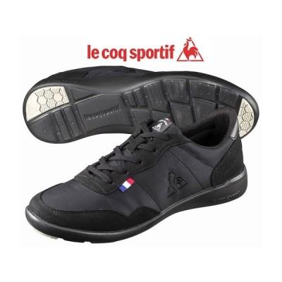ルコック スポルティフ le coq sportif セギュールIII ワイド QL3NJC05 ブラック 靴 スニーカー レディース