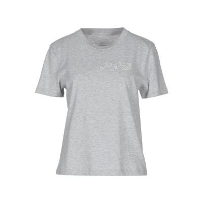 MM6 メゾン マルジェラ MM6 MAISON MARGIELA T シャツ ライトグレー S コットン 100% T シャツ