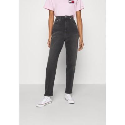 トミージーンズ レディース ファッション MOM COMFORT - Relaxed fit jeans - denim black