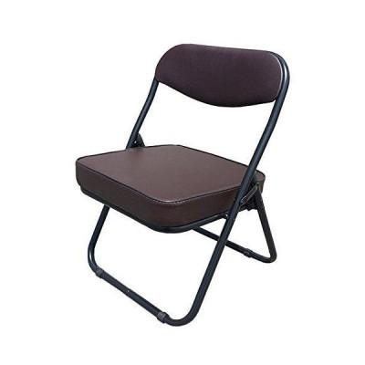 折りたたみ座椅子 ローチェアー ブラウン