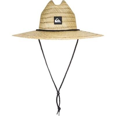 クイックシルバー 帽子 アクセサリー メンズ Quiksilver Men's Pierside Hat Natural/Black