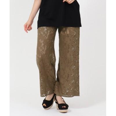 Couture Brooch(クチュールブローチ) 【洗える】レースガウチョ