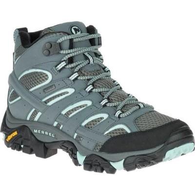 メレル レディース ブーツ・レインブーツ シューズ Moab 2 Mid GORE-TEX Hiking Boot