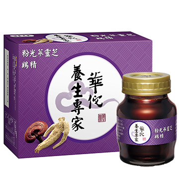 華佗粉光蔘靈芝鷄精70g(12入)