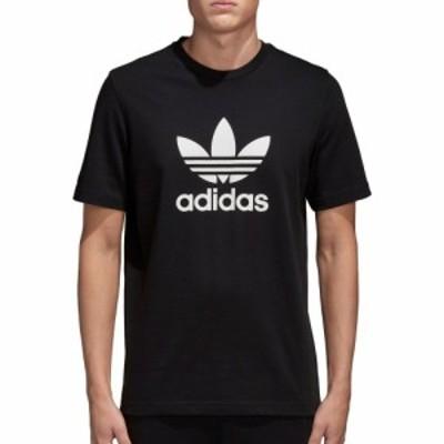 アディダス adidas メンズ Tシャツ トップス Originals Trefoil Graphic T-Shirt Black