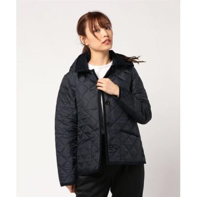 Traditional Weatherwear / LADIES WAVERLY HOOD SHORT / レディース ウェーヴァリー フード ショート WOMEN ジャケット/アウター > ステンカラーコート