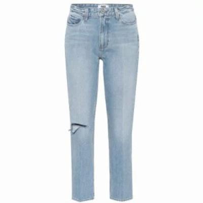 ペイジ ジーンズ・デニム Sarah high-waisted straight jeans Sachi Destructed