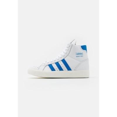 アディダスオリジナルス スニーカー メンズ シューズ BASKET PROFI UNISEX - High-top trainers - footwear white/blue bird/offwhite