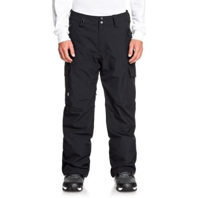 クイックシルバー Quiksilver メンズ スキー・スノーボード ボトムス・パンツ porter shell snowboard pants True Black