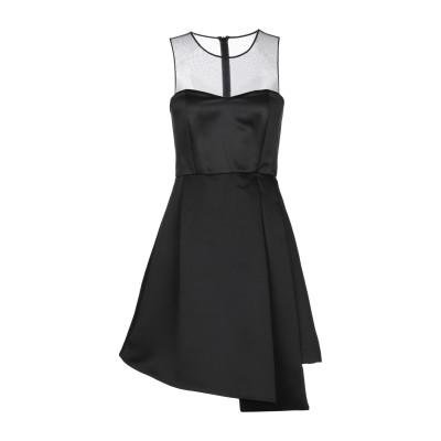 ピンコ PINKO ミニワンピース&ドレス ブラック 44 100% ポリエステル ナイロン ミニワンピース&ドレス