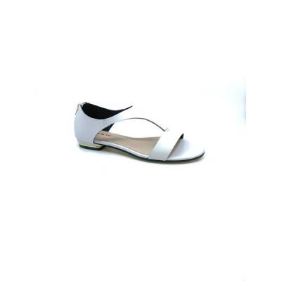オール ブラック レディース サンダル シューズ Women's City Flat Sandal