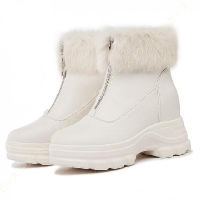 レディース ウインターブーツ 軽量 防寒 スノーシューズ ボア付き 保温 暖かい 滑らない 可愛い おしゃれ ファッション 雪靴 アウトドア 通勤用 スノーブーツ