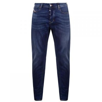 ディーゼル Diesel メンズ ジーンズ・デニム ボトムス・パンツ Larkee Beex Tapered Jeans Mid Blue AZ