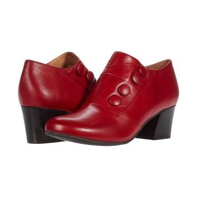 Miz Mooz ミズムーズ レディース 女性用 シューズ 靴 ローファー ボートシューズ Fabrice - Red