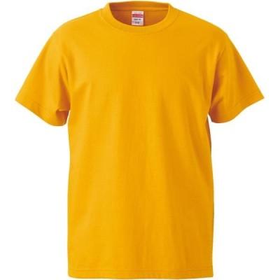 ユナイテッドアスレ カジュアル 5.6オンスTシャツ(ガールズ) 16 ゴールド Tシャツ(500103c-22)