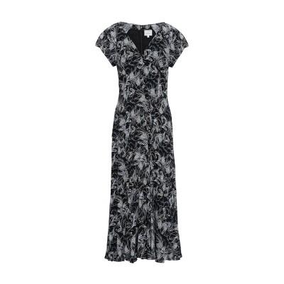 CINQ À SEPT 7分丈ワンピース・ドレス ブラック 6 レーヨン 100% 7分丈ワンピース・ドレス