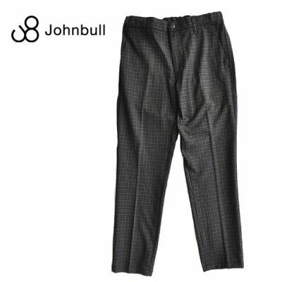 JOHNBULL ジョンブル パンツ アウトラストイージーパンツ チェック M-XL イージーパンツ 21206