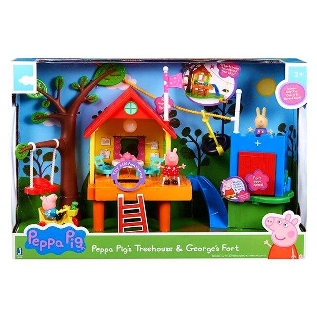 【英國Peppa Pig佩佩豬】歡樂樹屋 PE95795