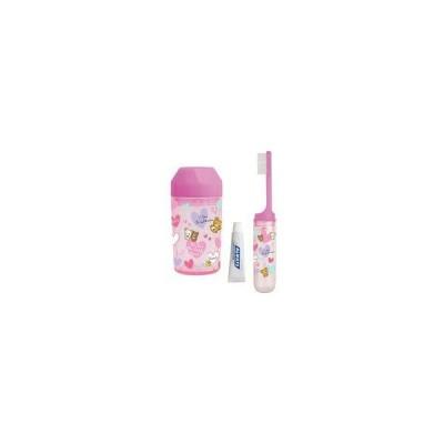 新品雑貨 ピンク キャラミックス 歯ブラシセット 「リラックマ」
