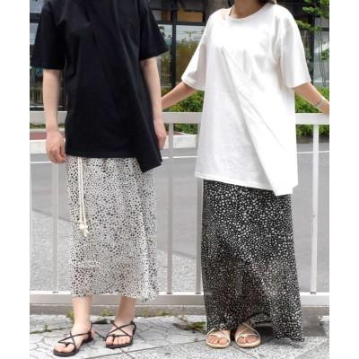(ARGO TOKYO/アルゴトウキョウ)Printed skirt 222043/レディース ホワイト
