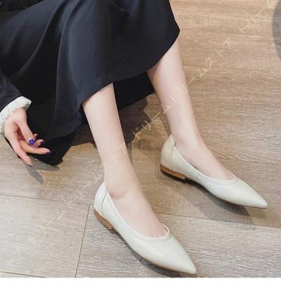 靴 パンプス マタニティ 疲れない レディース ぺたんこ スムース調 長時間 痛くない 妊婦 黒 フラットシューズ 歩きやすい パンプス 幅広 大きいサイズ
