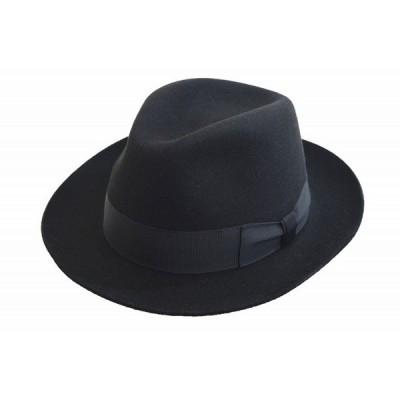 MAYSER マイサー 中折 1531036 ブラック 黒 帽子 メンズ 紳士 ハット ウール オシャレ カジュアル フォーマル 直輸入 スロバキア製 送料無料 ネット通販