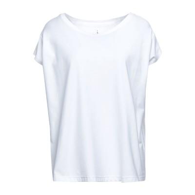 ISABELLA CLEMENTINI T シャツ ホワイト 42 コットン 100% T シャツ