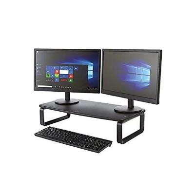 """Kensington SmartFit Extra Wide Monitor Stand (K52797WW), Black, 2"""" x 24"""" x"""