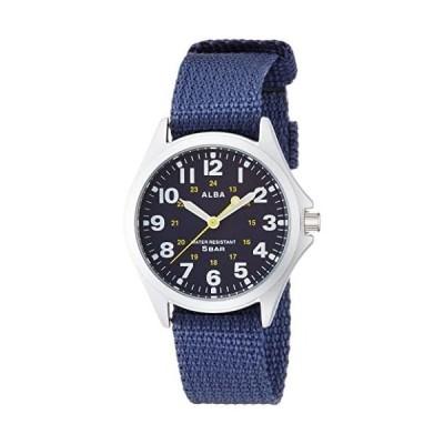 [セイコーウォッチ] 腕時計 アルバ クオーツ 時分針ルミ メンズスポーツ AQPK402 ブルー