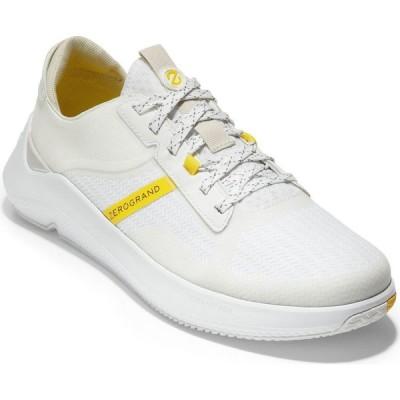 コールハーン Cole Haan メンズ テニス スニーカー トップス Zerogrand Winner Tennis Sneakers White/nimbus Cloud/cyber Yellow/optic White