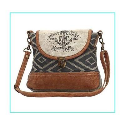 【新品】Myra Bags North Coast Anchors Upcycled Canvas Crossbody Bag S-1049(並行輸入品)