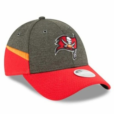 New Era ニュー エラ スポーツ用品  New Era Tampa Bay Buccaneers Womens Pewter/Red 2018 NFL Sideline Home 9FORTY Adjust