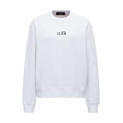 ディースクエアード レディース ニット&セーター アウター Dsquared2 Icon Print Crewneck Sweatshirt -