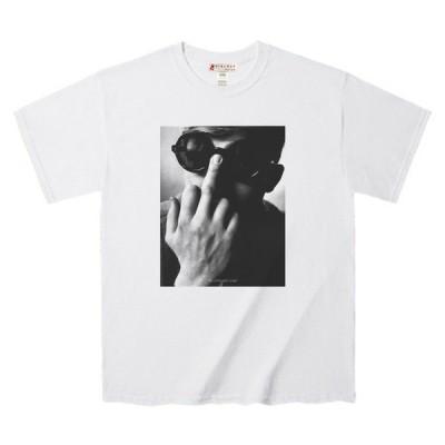 """Tシャツ """"The unfocused anger""""‥‥行き場の無い怒り  ワンポイントタイポ入り デザインTee"""