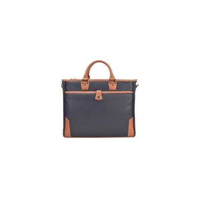 平野鞄  2WAY ビジネス バッグ  B4ファイル対応 【 ネイビー 】  ウレタン内装ポケット KBN 26637