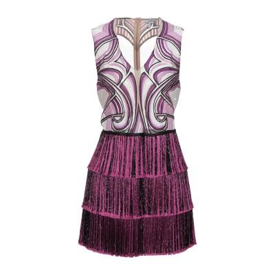 ビブロス BYBLOS ミニワンピース&ドレス ライトパープル 42 レーヨン 100% / ナイロン / ポリエステル / ガラス ミニワンピース